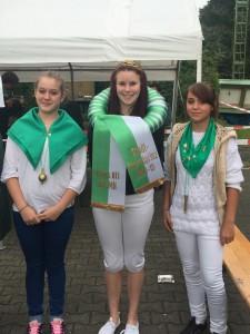 Chantal Wolsing, Larissa I. Ecke und Samantha Freitag