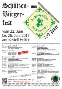 Schützenfest Programm 2017