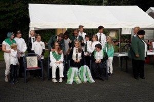 Siegerehrung Kreisjugendkönig- und Stadtprinzenschießen 2017